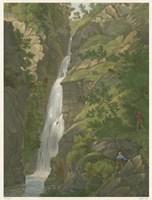 Tranquil Cascade II Fine Art Print