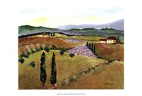 Tuscany Afternoon I Fine Art Print