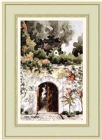 Gateway to a Turkish Garden Fine Art Print