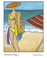 Beach Blanket Baby I Fine Art Print