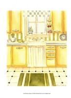 Retro Kitchen I Framed Print