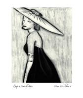 Sophie goes to Paris Fine Art Print