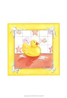 Rubber Duck (D) I Framed Print
