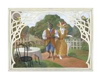 Rabbit's Picnic Fine Art Print