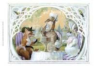 Rabbit's Tea Party Fine Art Print