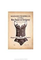 Chariklia's Lingerie I Framed Print