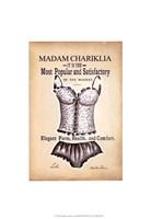 Chariklia's Lingerie II Framed Print