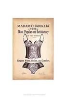 Chariklia's Lingerie IV Framed Print
