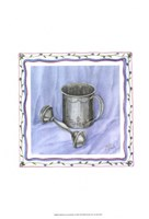Heirloom Cup & Rattle I Fine Art Print