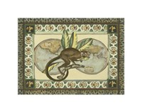 Tropical Monkey II Framed Print