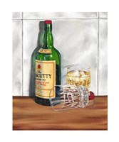 Scotch on the Rocks I Framed Print