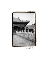 Forbidden City Walk, Beijing Giclee