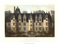 French Chateaux III Giclee