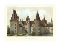 French Chateaux IV Framed Print
