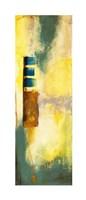 Aquamarine Aura VI Framed Print