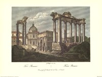 The Roman Forum Fine Art Print
