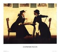 Confidences Fine Art Print