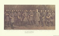 Robert E. Lee and his Generals Fine Art Print