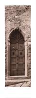 La Porta Via, Cortona Fine Art Print