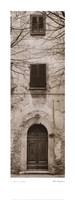 La Porta Via, Volterra Fine Art Print