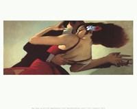 Tango Dancers Fine Art Print