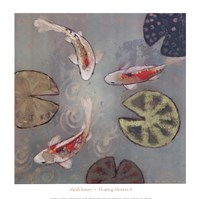 Floating Motion II (14 x 14) Fine Art Print