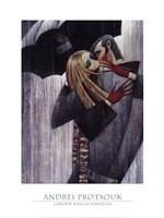 LAmour sous le Parapluie Fine Art Print