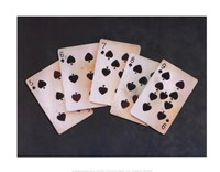 Straight Flush Fine Art Print
