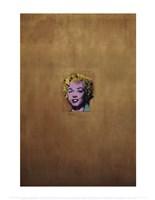Gold Marilyn Monroe, 1962 Fine Art Print