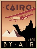 Cairo by Air Fine Art Print