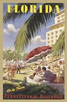 Florida Go by Train Fine Art Print