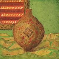 Pot oriental dor Fine Art Print
