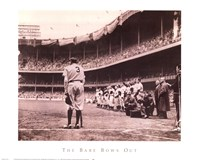 Babe Bows Out, c.1948 Framed Print