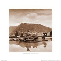 Fountain Study - Villa Olmo, Italy Fine Art Print