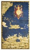 Map of the Caribbean and Venezeula Fine Art Print