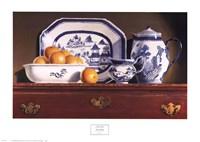 Tea & Oranges Fine Art Print