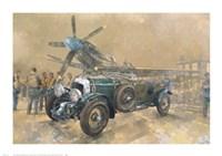 Bentley and Spitfire Fine Art Print