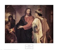 Christ and the Rich Young Ruler Fine Art Print