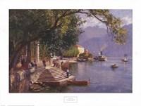 Villa Carlotta, Lake Como Fine Art Print