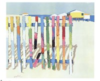 Rainbow Beach, 1977 Framed Print