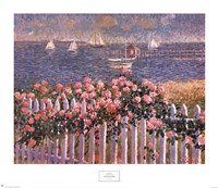 Hyannis Port Roses Fine Art Print