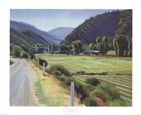 Harvest-Brush Creek Canyon Fine Art Print
