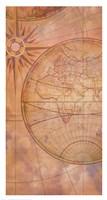 Compass Chart Fine Art Print