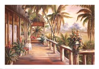 Tropical Retreat II Framed Print