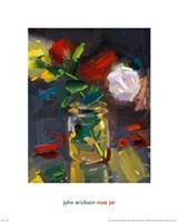 Rose Jar Fine Art Print