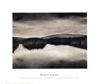 Pond and Montezuma Hills, Sacramento-San Joaquin River Delta, 2000 Framed Print
