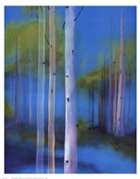 Melodious Birch II Framed Print