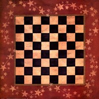 Americana Checkers Fine Art Print