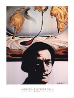 Homage To Dali Fine Art Print