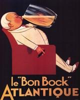 Le Bon Bock Framed Print